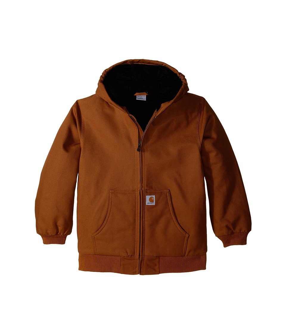 Carhartt Kids Active Jac Big Kids Carhartt Brown Boys Coat