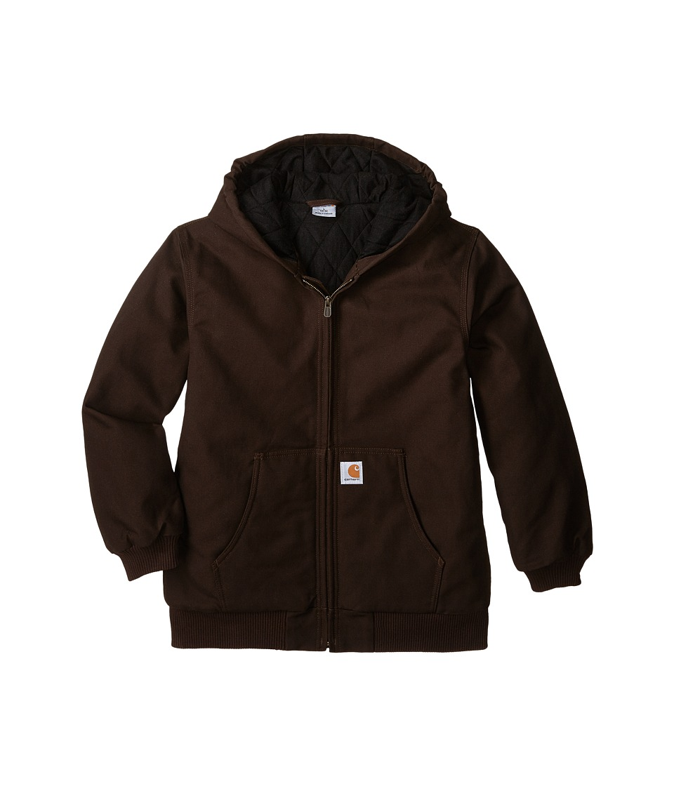 Carhartt Kids Active Jac Big Kids Mustang Brown Boys Coat