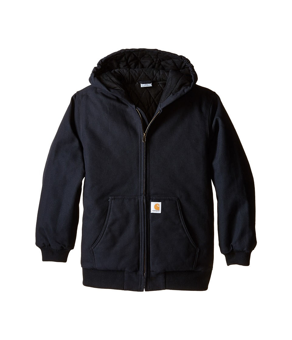 Carhartt Kids Active Jac Big Kids Caviar Black Boys Coat