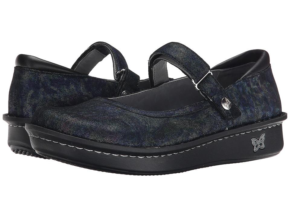 Alegria Belle Indigo Dream Womens Maryjane Shoes