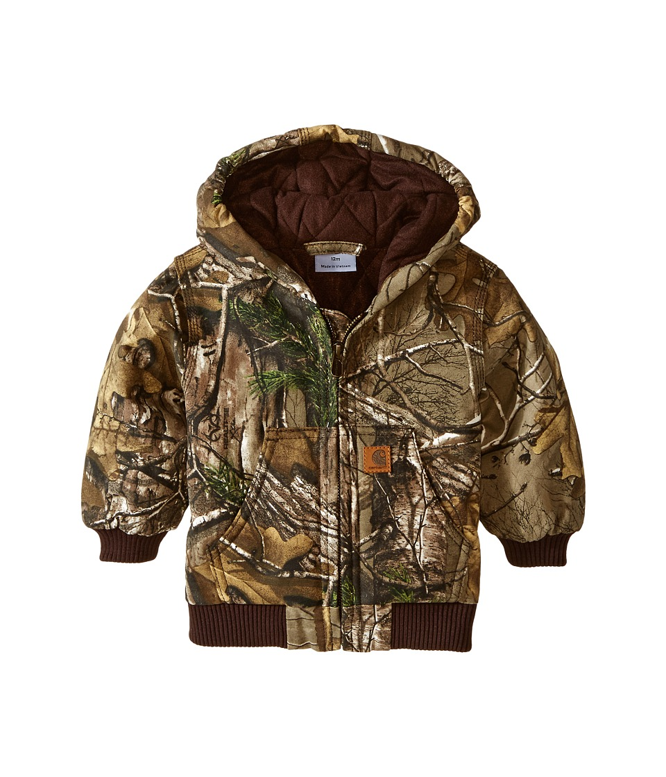 Carhartt Kids Camo Active Jac Infant Realtree Xtra Boys Coat