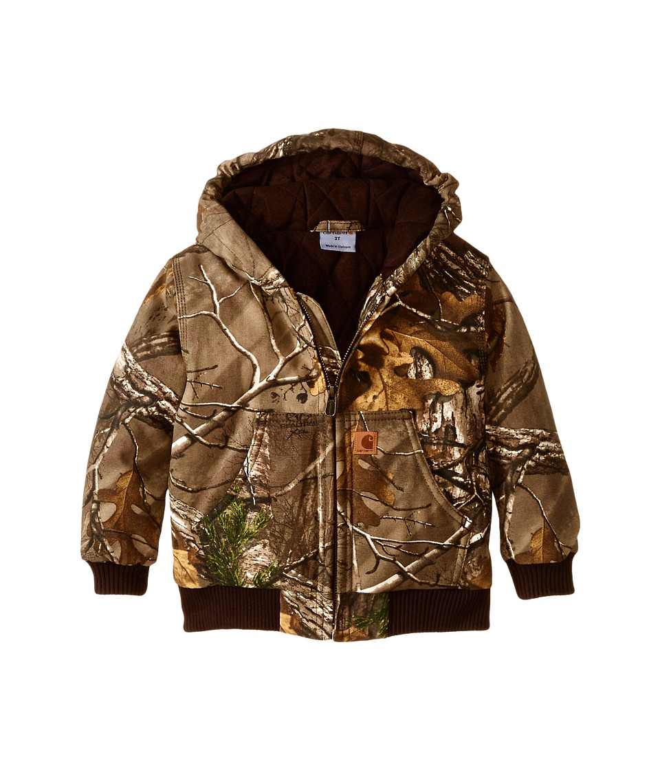 Carhartt Kids Camo Active Jac Toddler Realtree Xtra Boys Coat