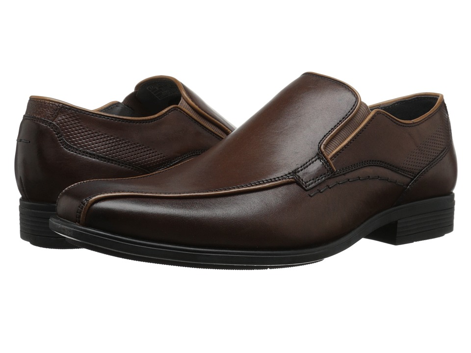 Hush Puppies - Carter Maddow (Brown Leather) Men