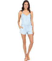 Blank NYC - Light Wash Denim Romper in Keep The Lights On