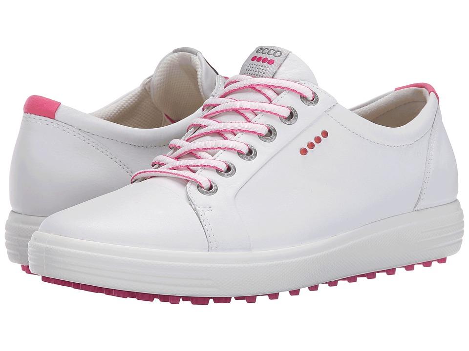 Ecco Golf - Casual Hybrid (White) Women's Shoes