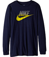 Nike Kids - CAT HBR Futura SSNL Long Sleeve Tee (Little Kids/Big Kids)