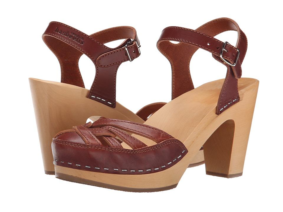 Swedish Hasbeens Agneta Cognac High Heels