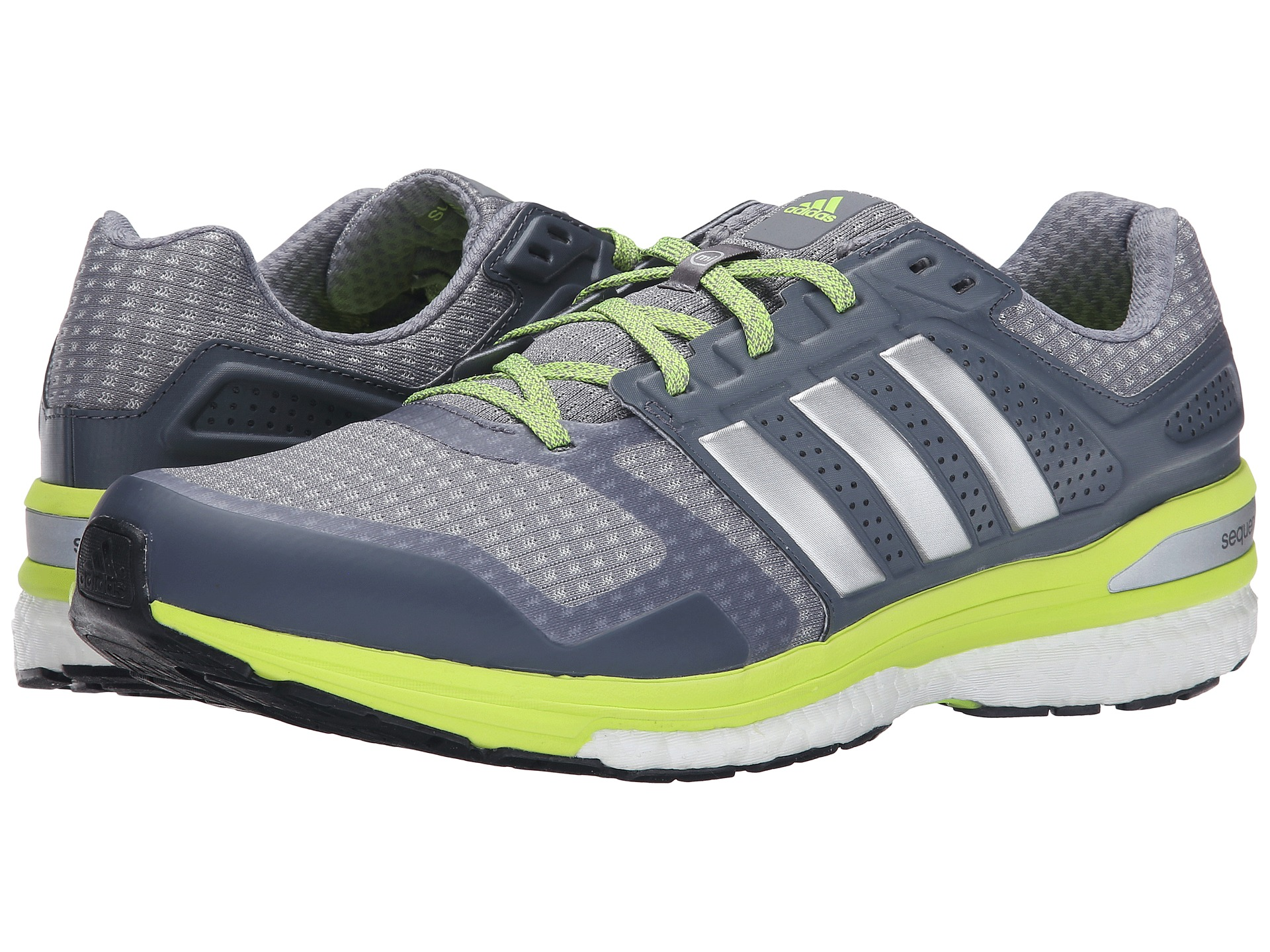 adidas running supernova sequence boost 8 grey silver. Black Bedroom Furniture Sets. Home Design Ideas