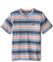 Lucky Brand Kids - The Hills V-Neck Tee (Big Kids)