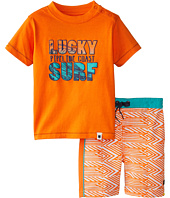 Lucky Brand Kids - Gone Surfing Swim Set (Infant)