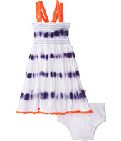 Lucky Brand Kids - Tie-Dye Stripe Smocked Dress (Toddler)