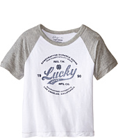 Lucky Brand Kids - Utility Raglan Tee (Toddler)