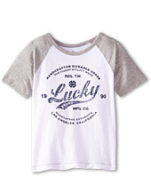 Lucky Brand Kids - Utility Raglan Tee (Little Kids/Big Kids)