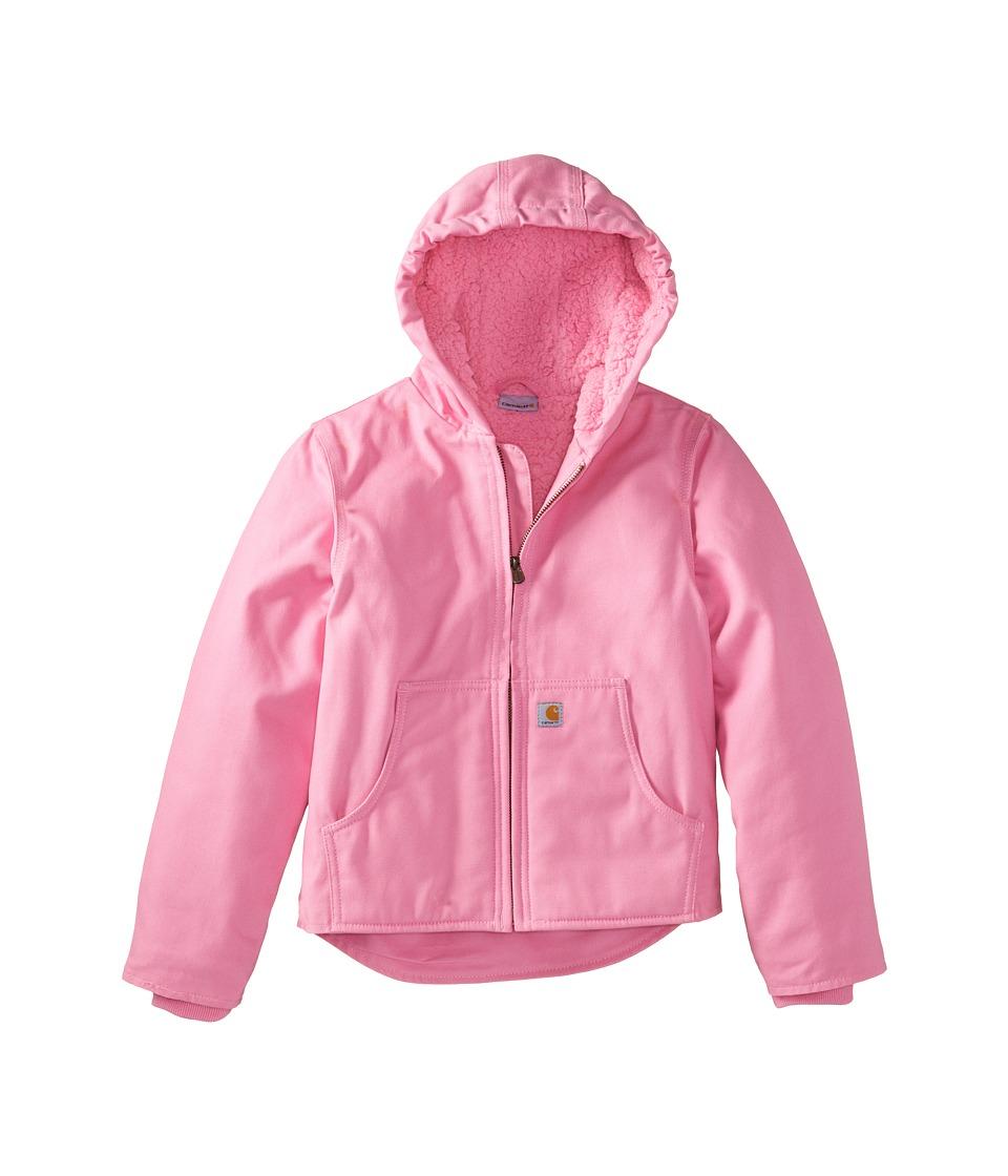 Carhartt Kids - Redwood Jacket (Little Kids/Big Kids) (Rosebloom) Girls Coat
