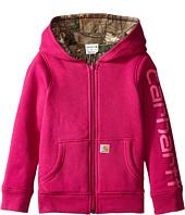 Carhartt Kids - Reversible Camo Zip Sweatshirt (Little Kids)