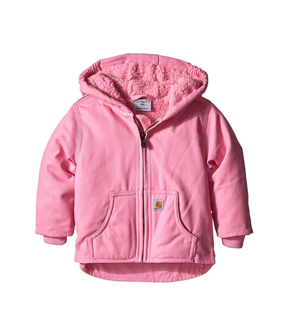 Carhartt Kids - Redwood Jacket (Infant) (Rosebloom) Girls Coat