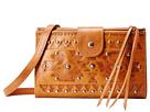 American West Chippewa Fold-Over Wallet/Crossbody (Golden Tan)