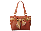 American West Bandana Signature Collection Carry All Tote (Chestnut)