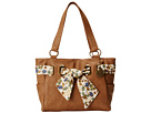 American West Bandana Signature Collection Carry All Tote (Tan)