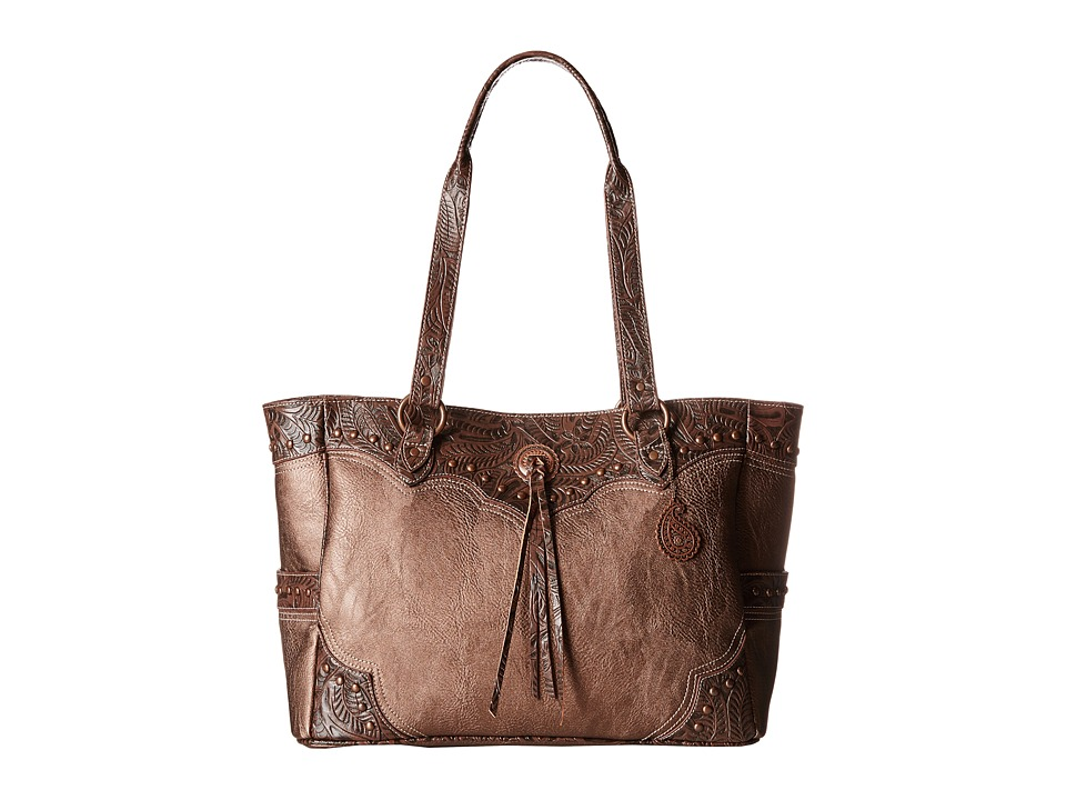 American West - Breckenridge Carry-On Tote (Copper Metallic) Tote Handbags