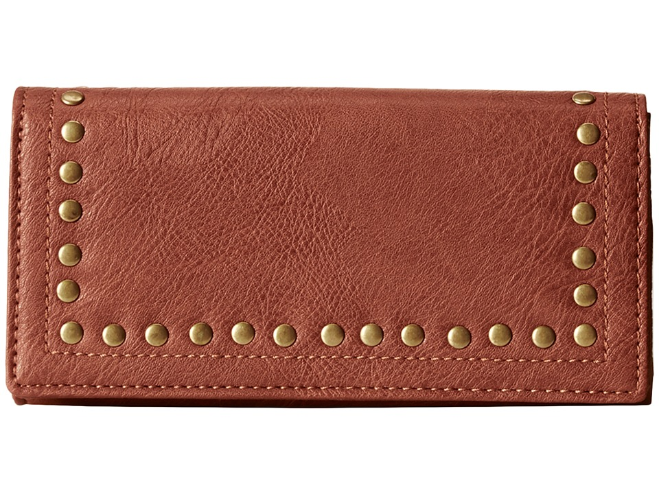 Image of American West - Bandana Flap Wallet (Chestnut) Handbags