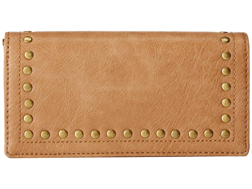 American West - Bandana Flap Wallet (Tan) Handbags