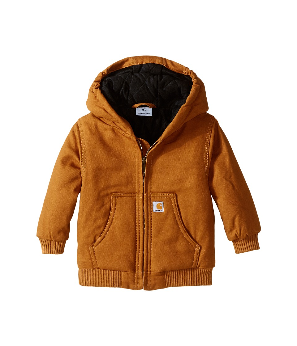 Carhartt Kids Active Jac Infant Carhartt Brown Boys Coat