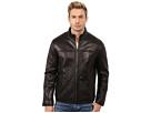 Cole Haan Smooth Lamb Convertible Collar Jacket