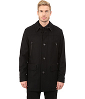 Cole Haan - Melton Shirt Collar Coat