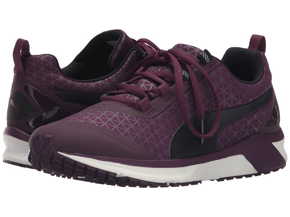 PUMA Ignite XT Graphic Italian Plum Womens Shoes