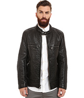 Marc New York by Andrew Marc - Gramercy Bubble P/U Moto Jacket w/ Chest Zipper Pockets