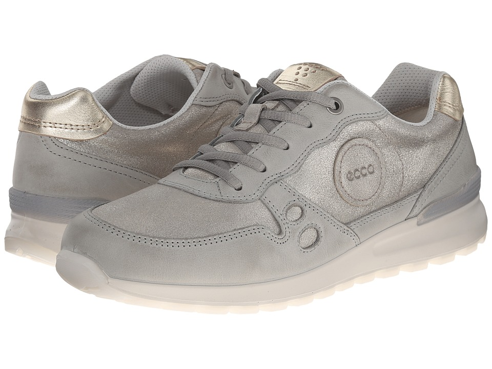 ECCO CS14 Casual Sneaker Wild Dove/Moon Rock/Light Gold Womens Lace up casual Shoes