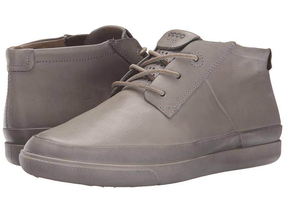 ECCO Damara Tie Bootie Concrete Womens Shoes