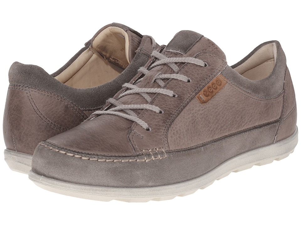 ECCO Cayla Tie Warm Grey/Moon Rock Womens Lace up casual Shoes