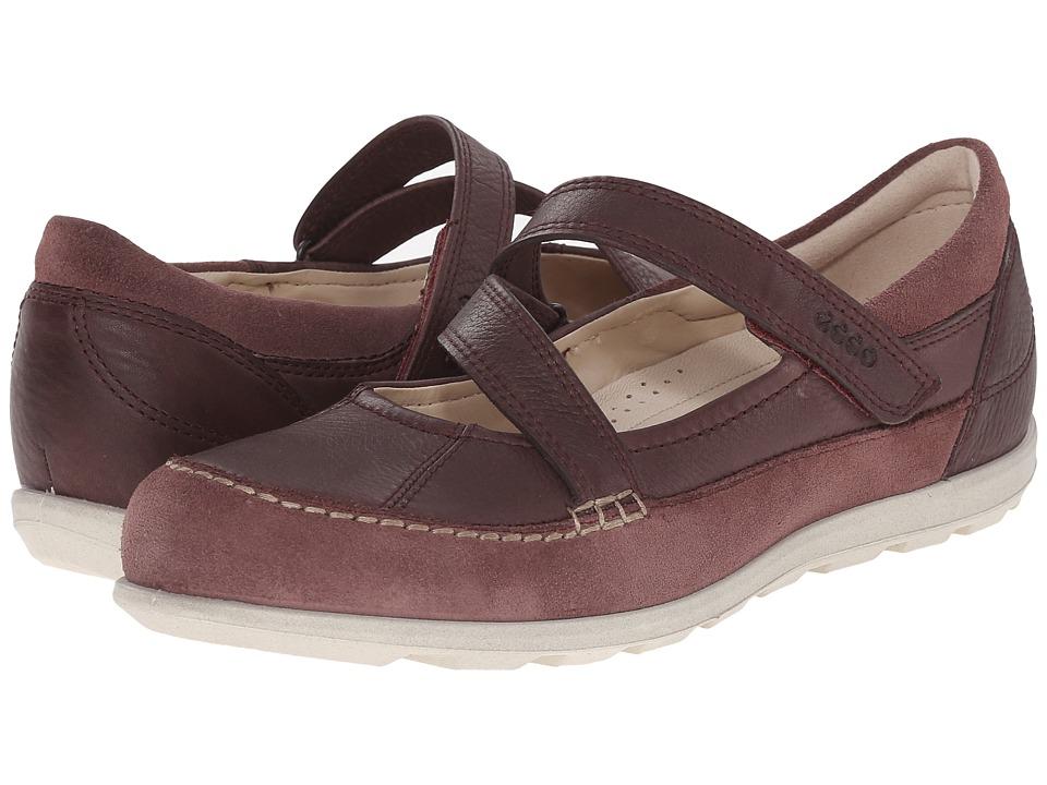 ECCO Cayla Mary Jane Dusty Purple/Dusty Purple Womens Slip on Shoes