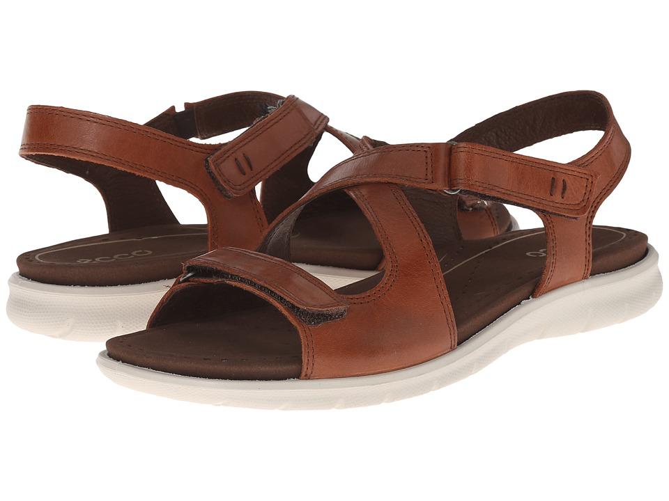 ECCO Babett Sandal Mahogany Womens Sandals