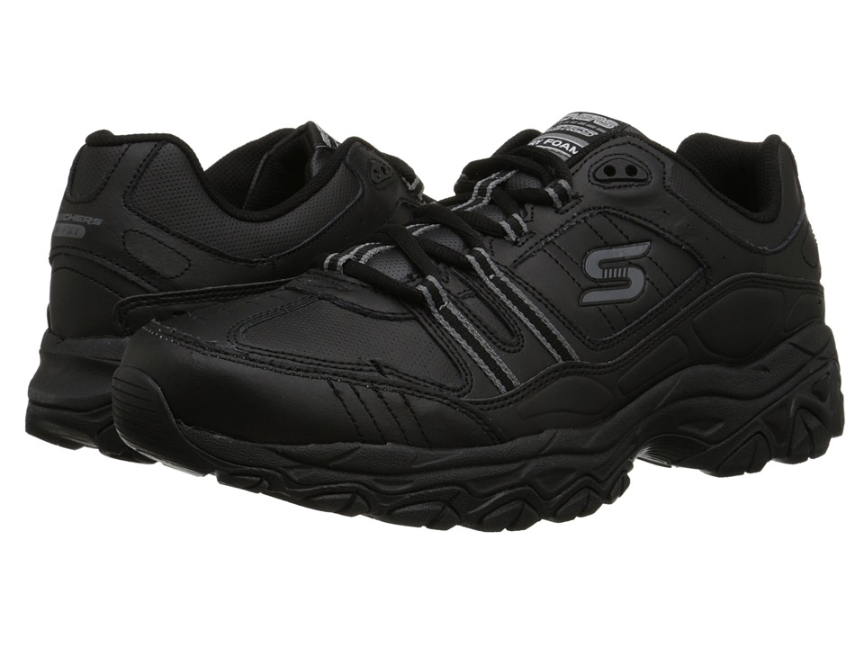 SKECHERS Afterburn M. Fit Strike On (Black) Men
