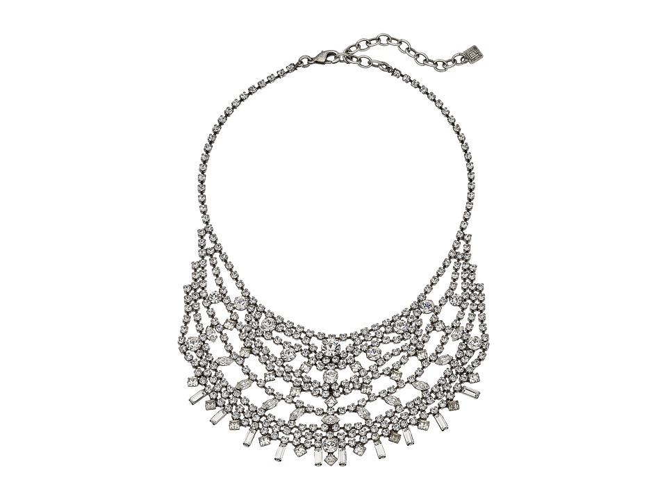 DANNIJO STEINEM Necklace Silver/Crystal Necklace