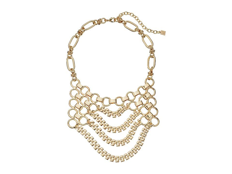 DANNIJO JACKSON Bib Necklace Gold Necklace