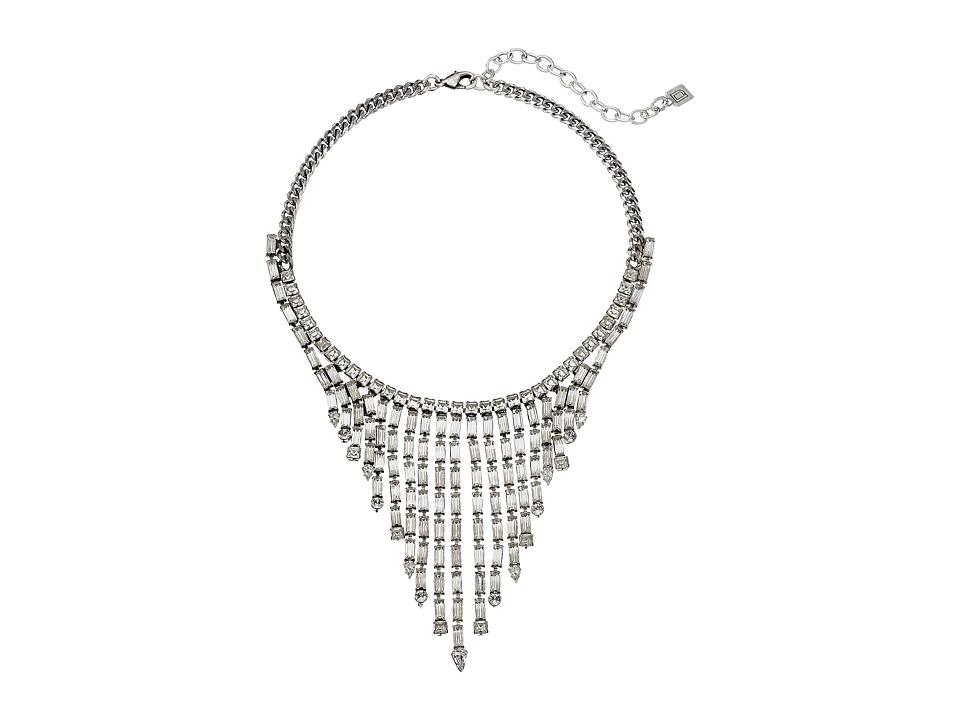 DANNIJO HALLSY Necklace Silver/Crystal Necklace