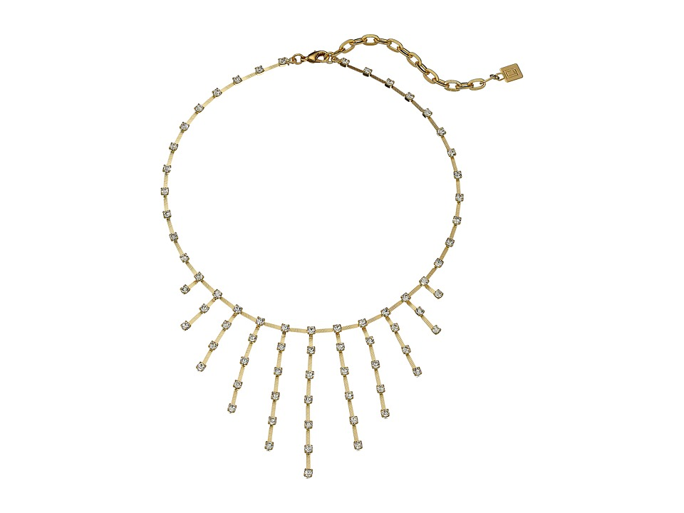 DANNIJO TINKA Necklace Gold/Crystal Necklace