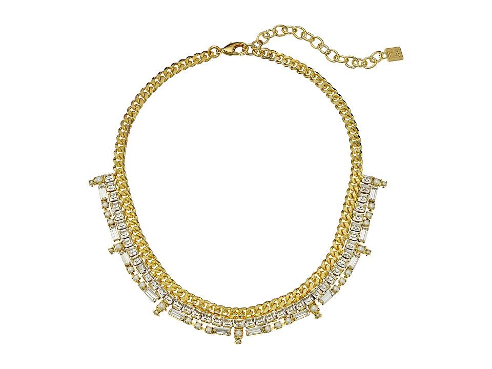 DANNIJO REIDS Necklace Gold/Crystal Necklace