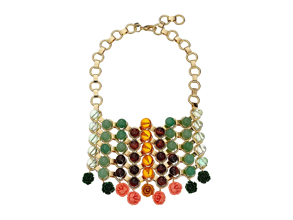 DANNIJO BAEZ Bib Necklace Gold Necklace