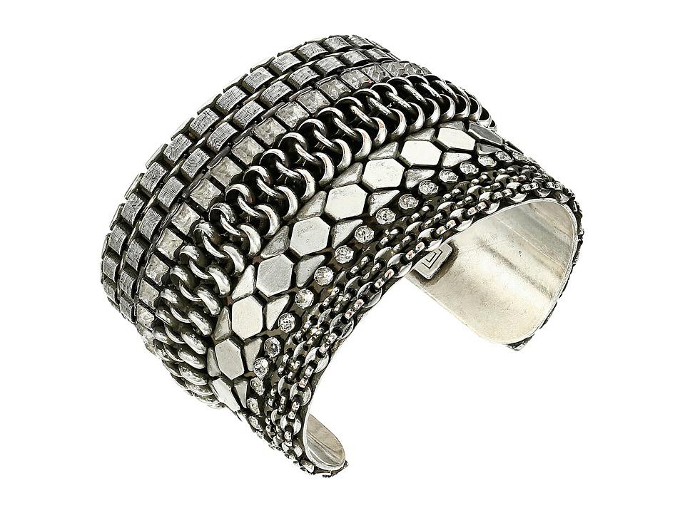 DANNIJO ROXANNA Bracelet Silver/Crystal Bracelet