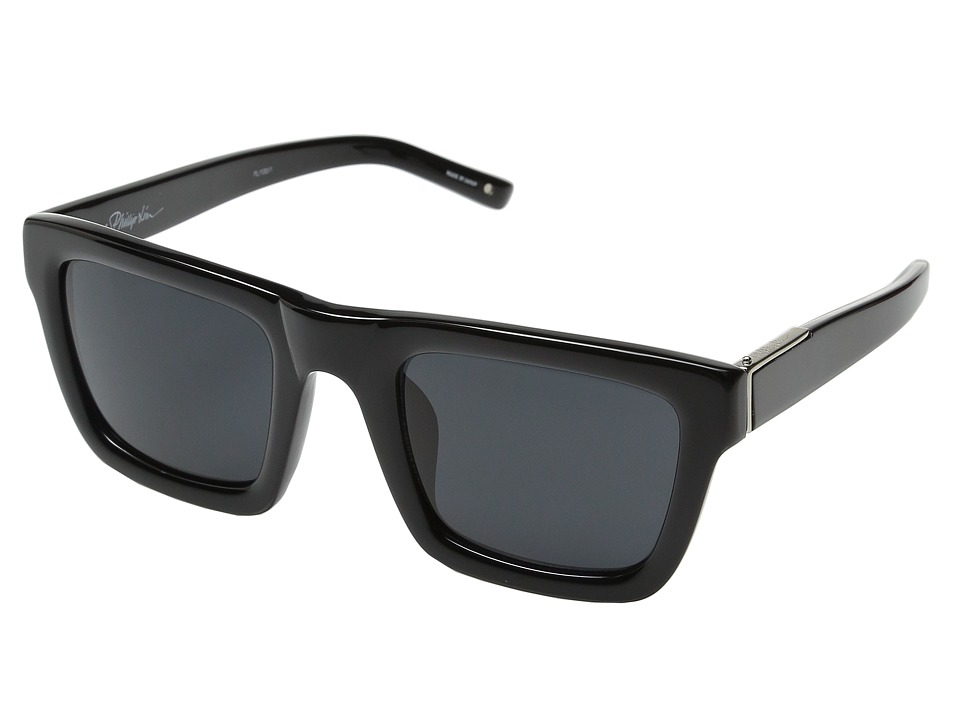 3.1 Phillip Lim PL100 Black/Silver/Bang Bang Black Fashion Sunglasses