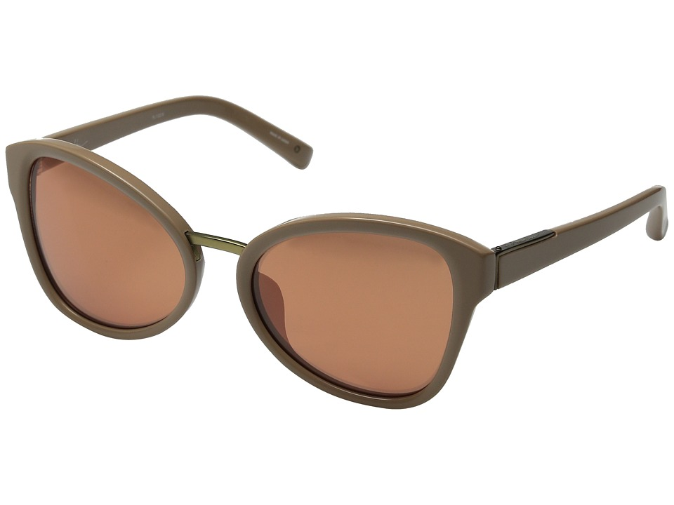 3.1 Phillip Lim PL102 Camel/Brushed Bronze/Copper Mirror Fashion Sunglasses