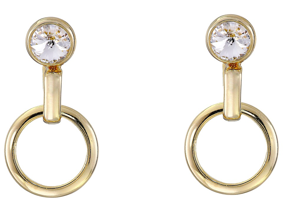 DANNIJO MELBOURNE Earrings Gold/Crystal Earring