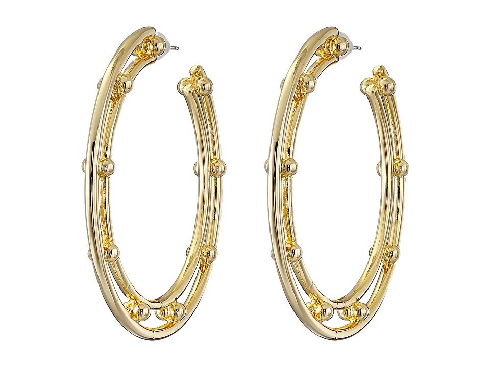 DANNIJO ILLEANA Hoop Earrings Gold Earring