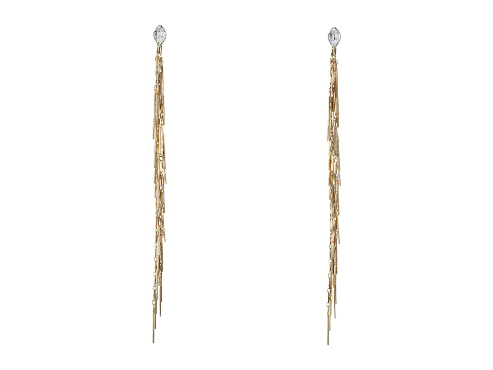 DANNIJO SASHA Drop Earrings Gold/Crystal Earring