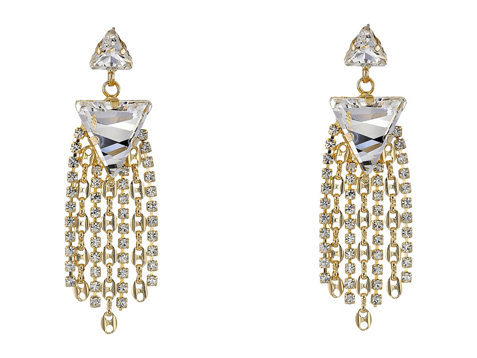 DANNIJO CANDICE Earrings Gold/Crystal Earring